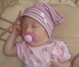 A takhle to dopadlo... Nelinka se nám narodila 30.3.2009