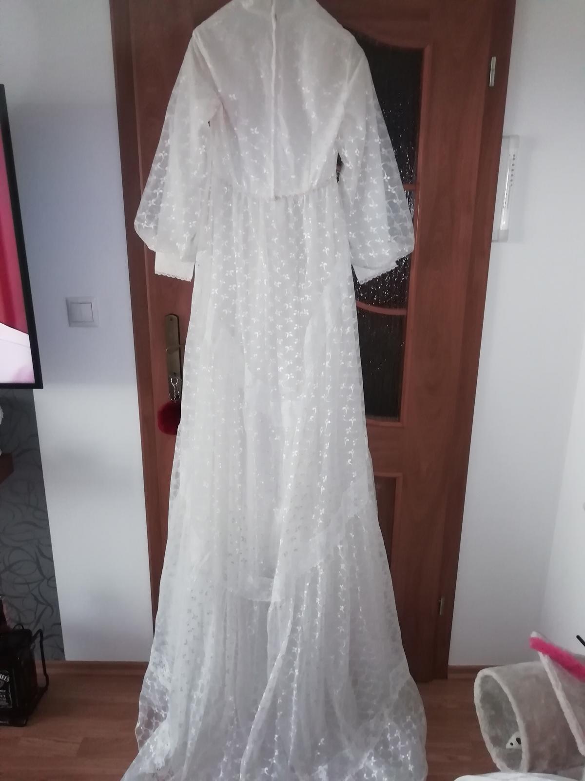 Staré, svadobné šaty. - Obrázok č. 2