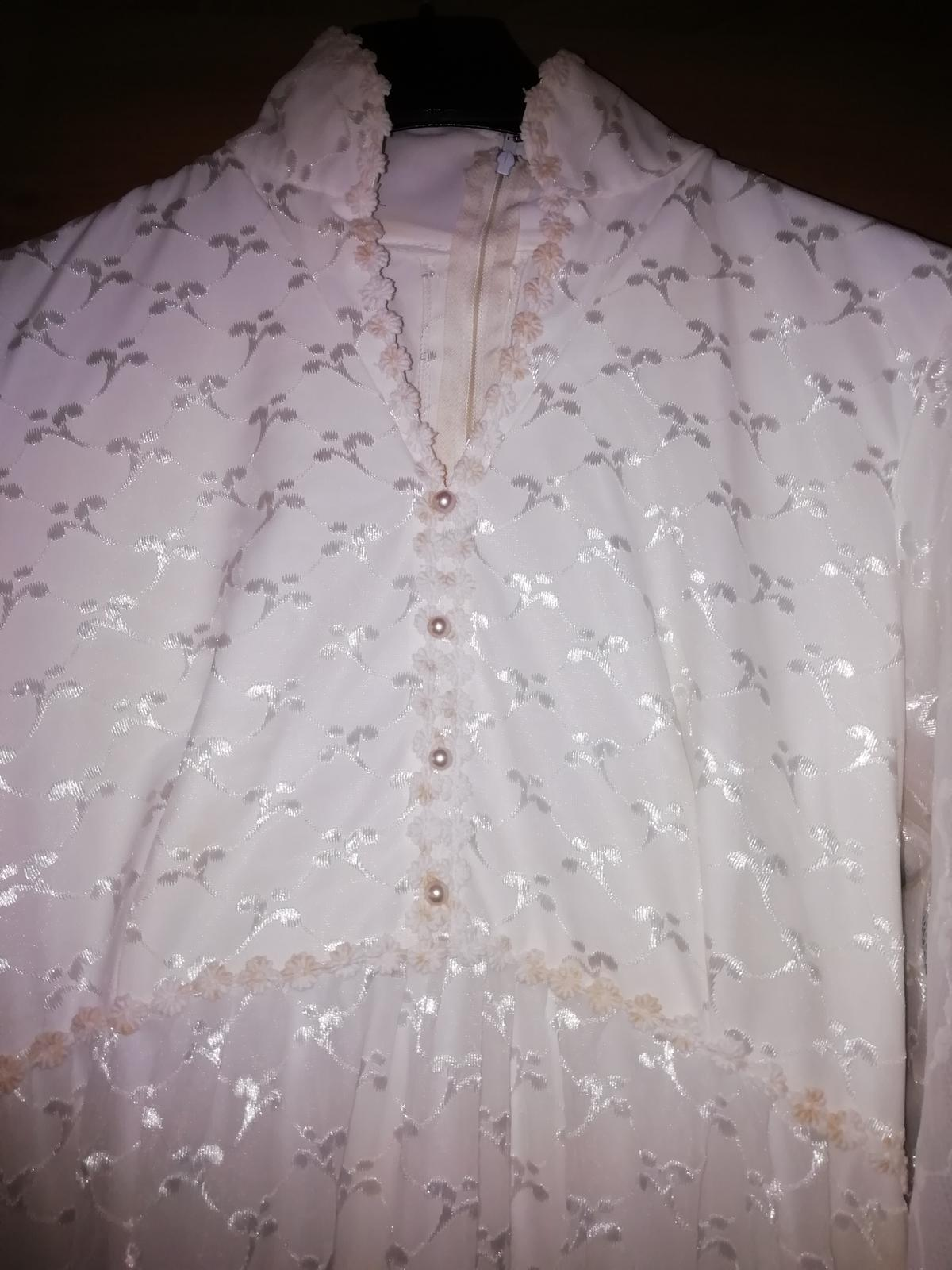 Staré, svadobné šaty. - Obrázok č. 3