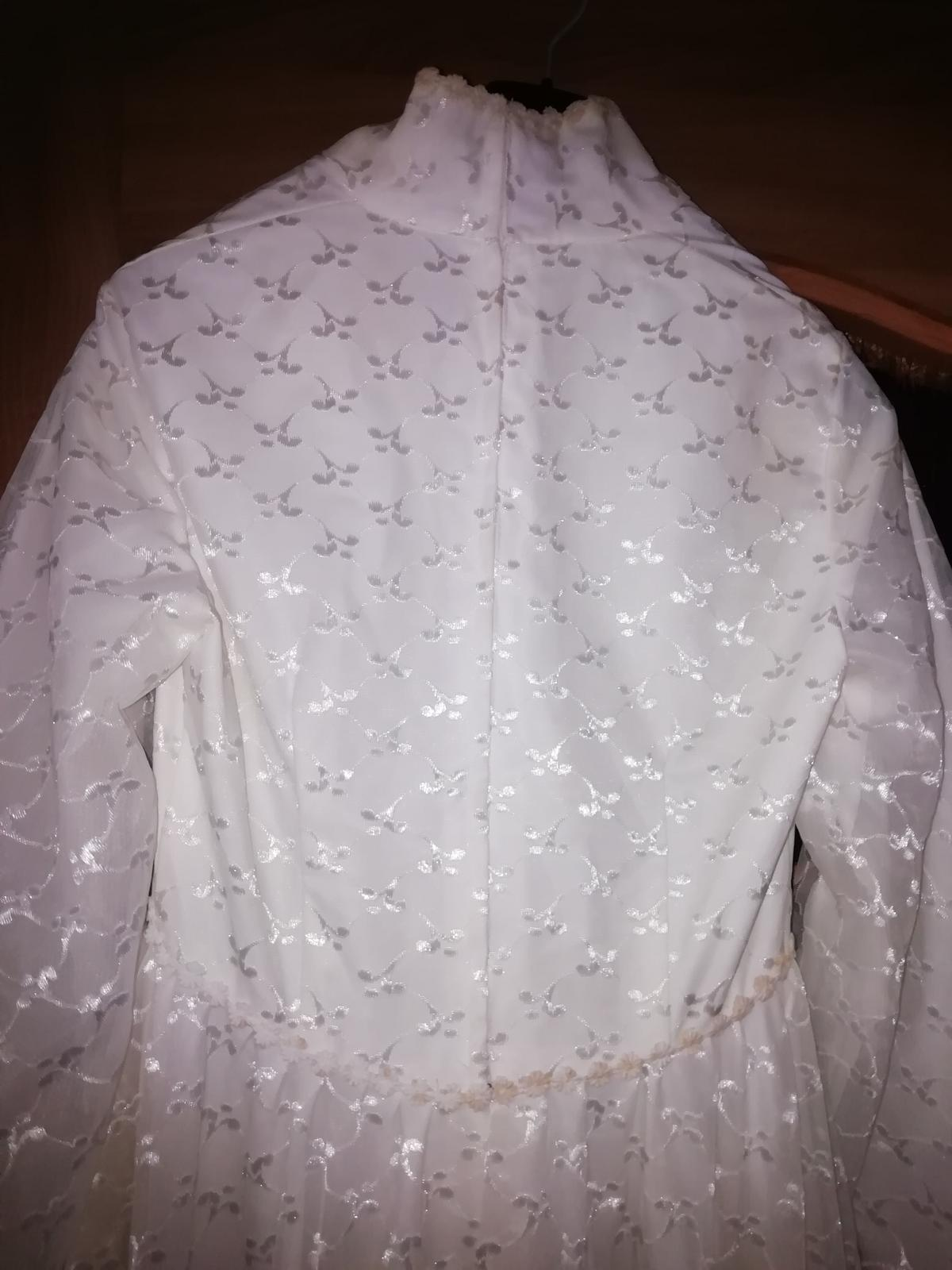 Staré, svadobné šaty. - Obrázok č. 4