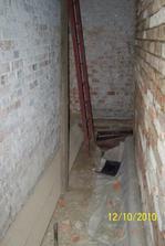 schodiště do potkroví