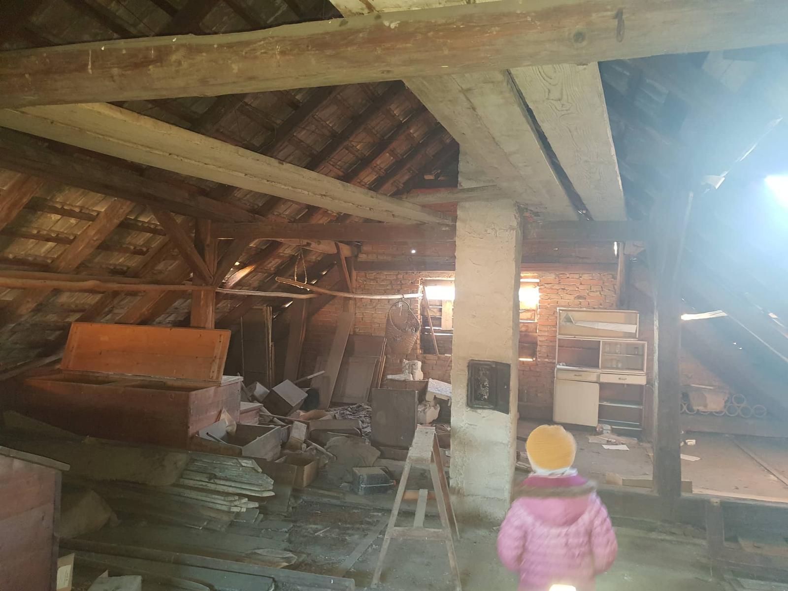 Rekonštrukcia domu-alebo chceme si splniť sen =》🏠🌻🌼🐶  mat domcek a vratit sa na Slovensko - povala