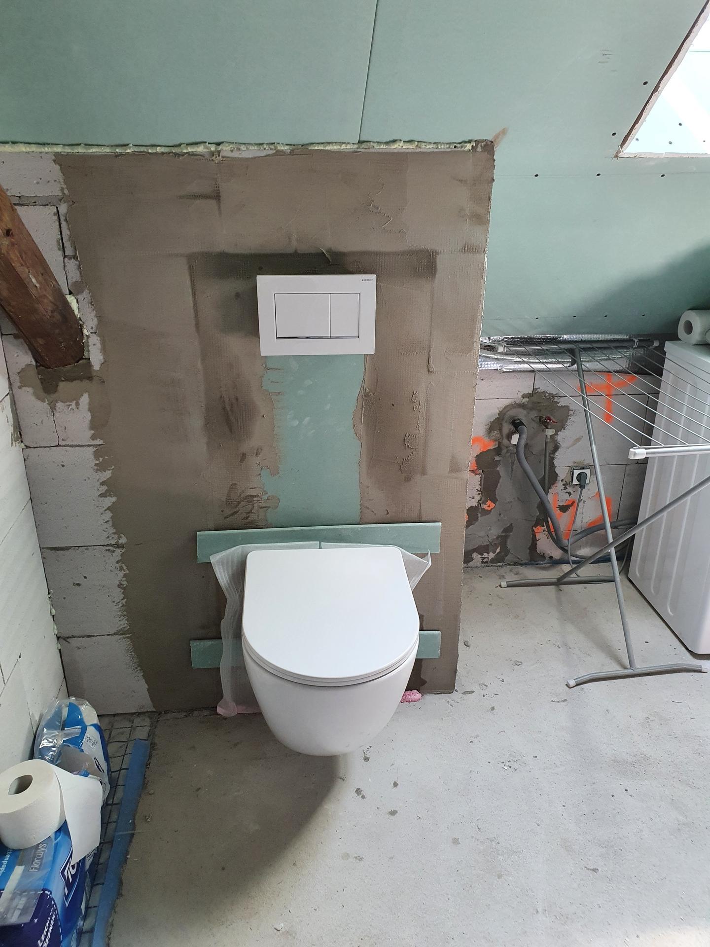 Rekonštrukcia domu-alebo chceme si splniť sen =》🏠🌻🌼🐶  mat domcek a vratit sa na Slovensko - Konečne normálne WC
