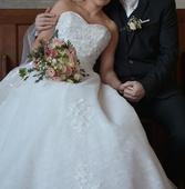 Svadobné šaty 38-42 , 38