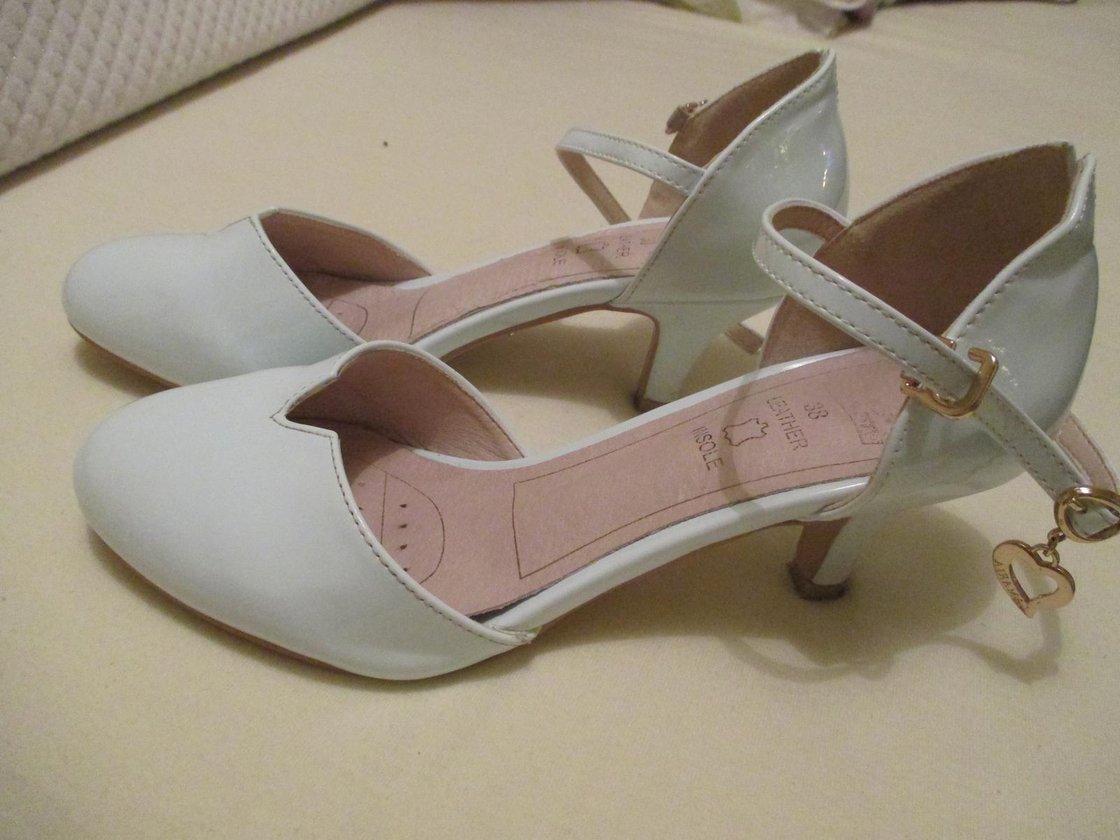 Pohodlné svadobné topánky - Obrázok č. 1