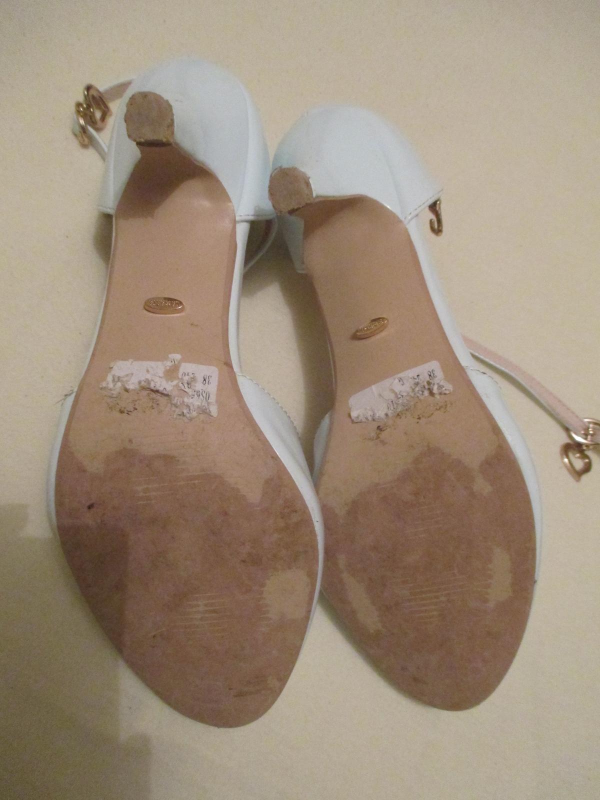 Pohodlné svadobné topánky - Obrázok č. 4
