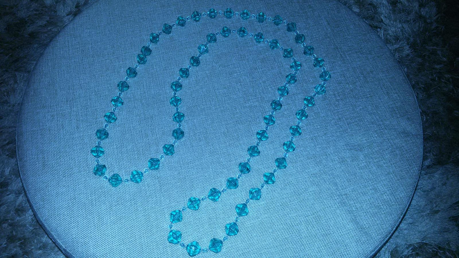Korálkovy náhrdelník a nausnice - Obrázok č. 2