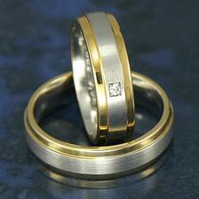 Pre inspiraciu obrucky z komibnovaneho zlata...