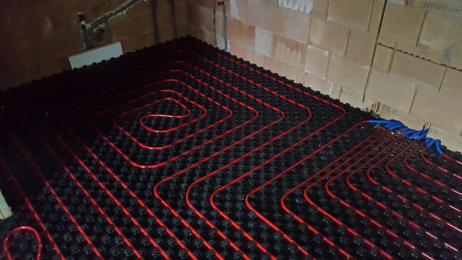 Náš APPA Pult podlahové kúrenie rúry kladenie - Obrázok č. 38