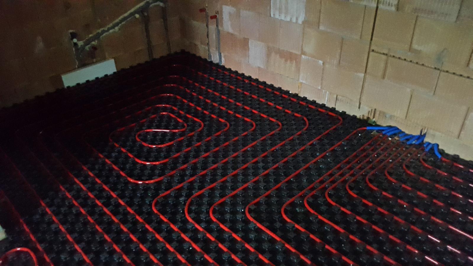 Náš APPA Pult podlahové kúrenie rúry kladenie - Obrázok č. 39