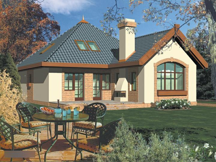 Moje milovane bungalovy - zariadenie, pôdorysy, rozloženie... - Do tohto domu som zamilovana, ale je predsa len velky