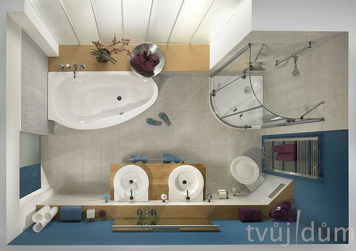 Moje milovane bungalovy - zariadenie, pôdorysy, rozloženie... - Pekné rozloženie, len trochu väčšia kúpelka a okno