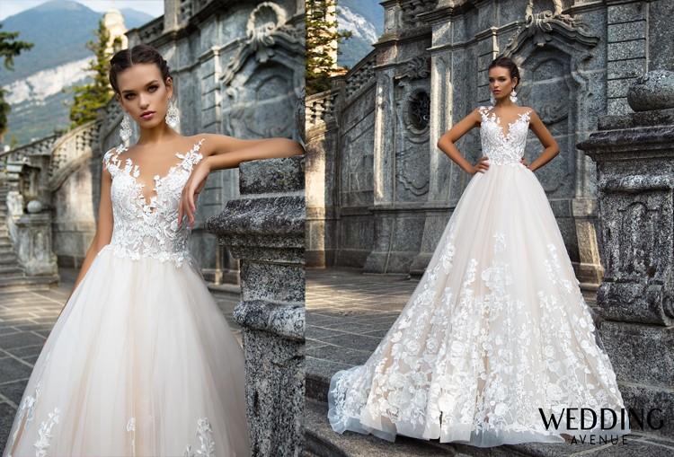 Prenádherné svadobné šaty Milla Nova Milena 36/38 na predaj - Obrázok č. 1