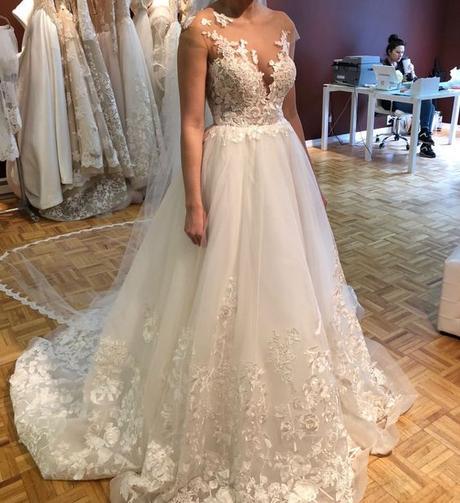 Prenádherné svadobné šaty Milla Nova Milena 36/38 na predaj - Obrázok č. 3