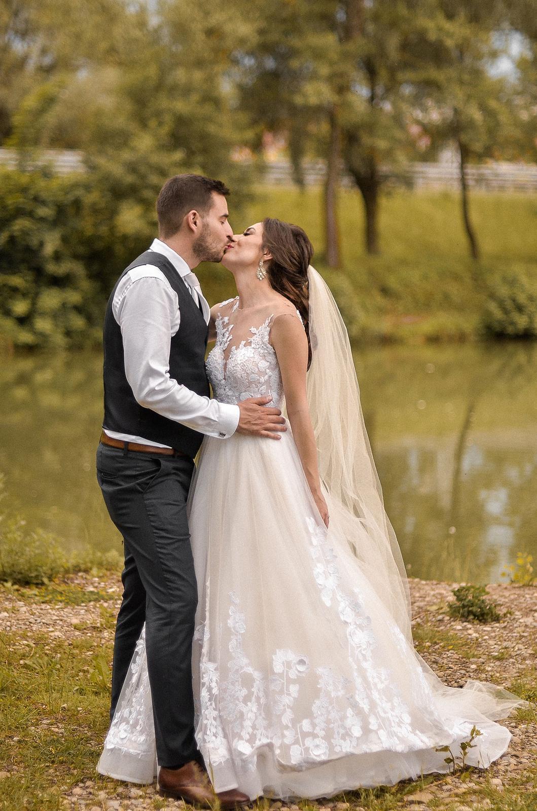 Prenádherné svadobné šaty Milla Nova Milena 36/38 na predaj - Obrázok č. 4