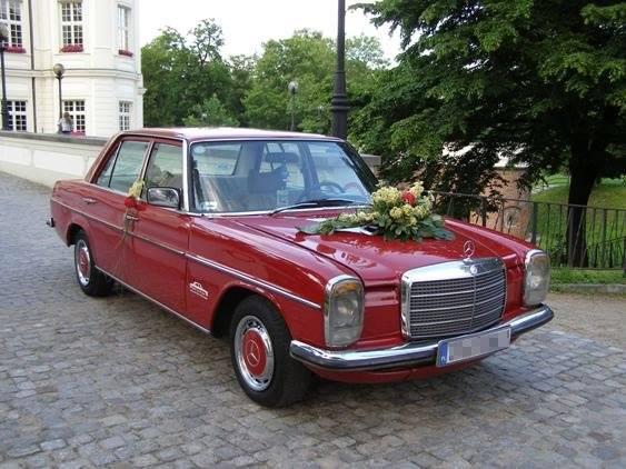 Naše svadobné auto - Mercedes Benz W115 - Obrázok č. 3