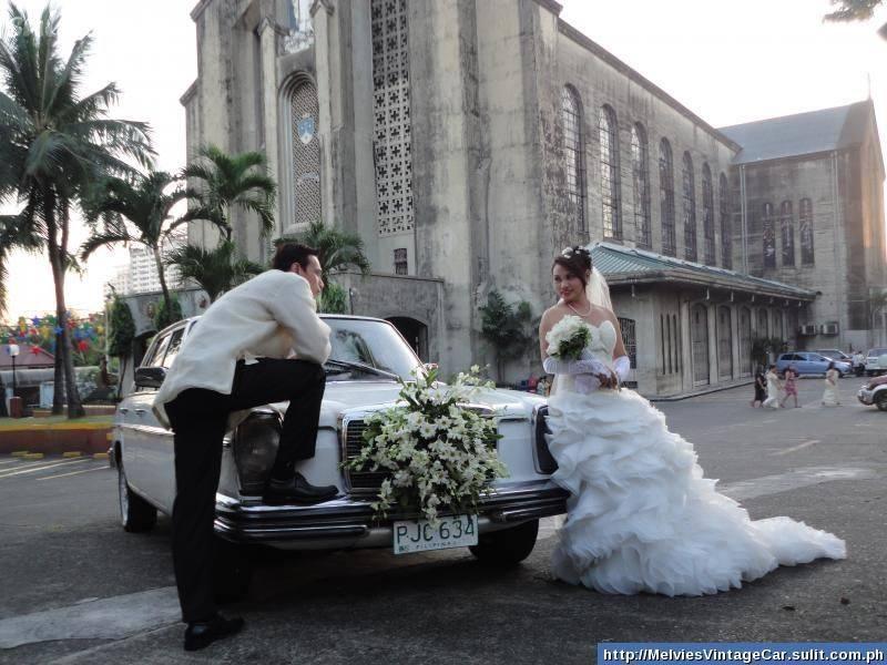 Naše svadobné auto - Mercedes Benz W115 - Obrázok č. 5