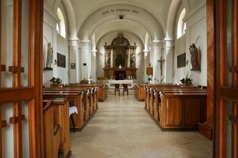 kostel Sv. Jiljí v Bohuňově - místo našeho obřadu