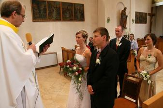 před manželským slibem