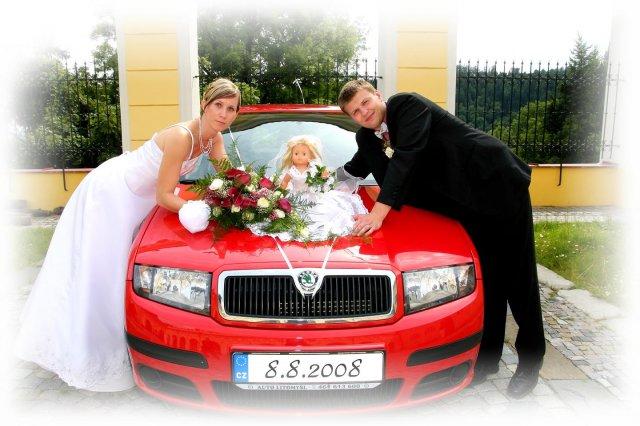 U autíčka nevěsty