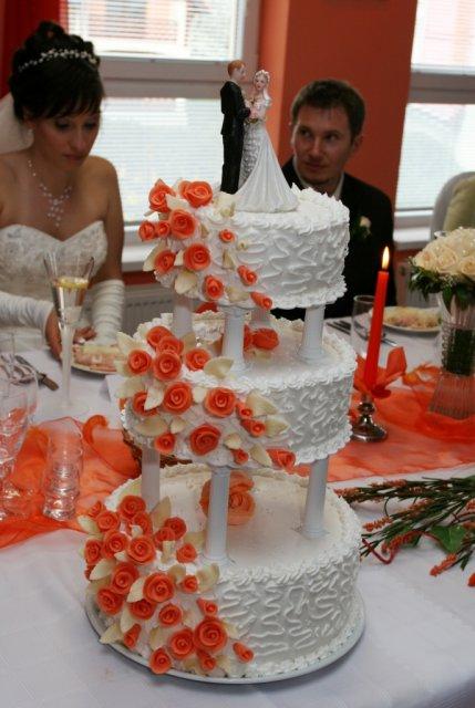 lenka{{_AND_}}peter greplovci - svadobná torta