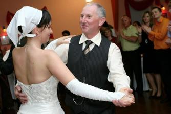 ja so svojim druhým svadobným  ockom