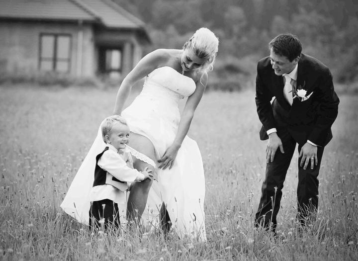 Nevěsta maminka - Fotografie skupiny