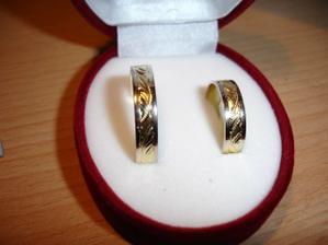 Naše snubní prstýnky :-)