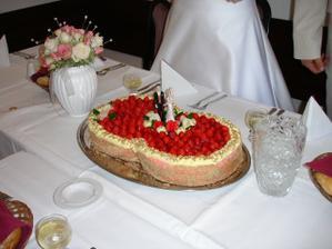 Moc by se mi líbil jednoduchý dort s jahodama-mňam.