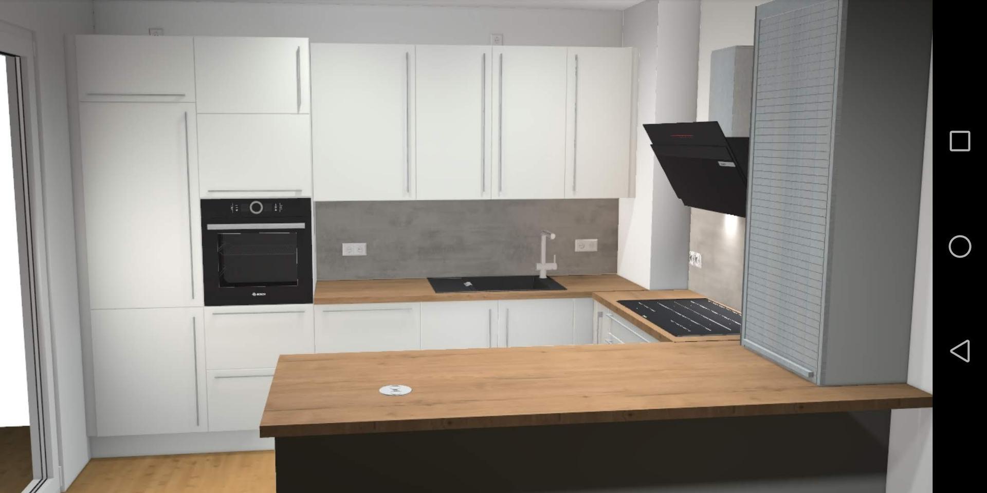 Náš nový byt v novostavbě - Zatím poslední návrh, v létě to ještě upravím. Ale dispozice zůstane