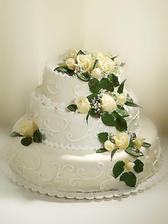 Další krásný dort. Aspoň si babička vybere, který by ráda udělala.