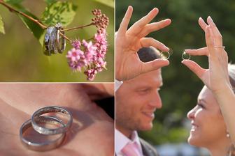 Zásnubní i snubní prstýnek od Rýdla. Naprostá spokojenost a skvěle odvedená práce.