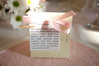 Svatební mandličky pro hosty