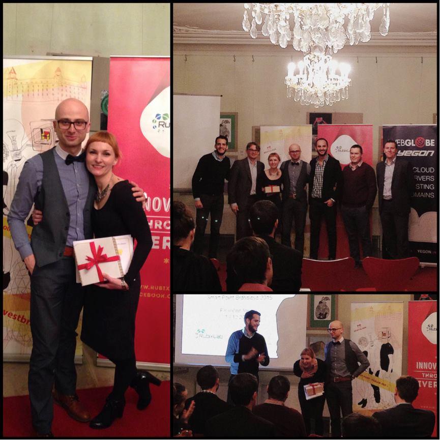 peter_a_lucia - Naše víťazstvo na Smart Point Bratislava 2015