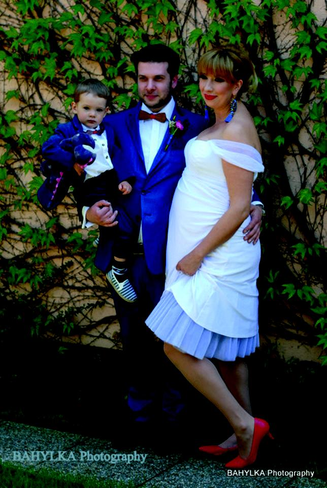 peter_a_lucia - Krátke svadobné šaty pre tehotnú nevestičku