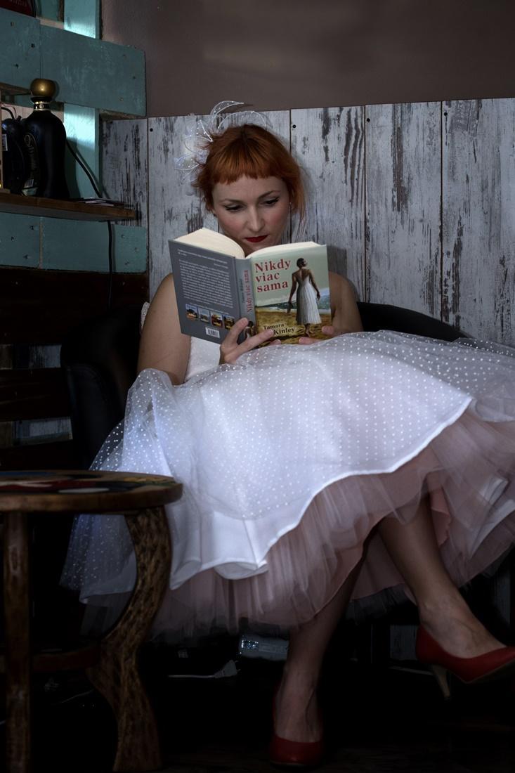 peter_a_lucia - Staroružová spodnica pod krátke svadobné šaty