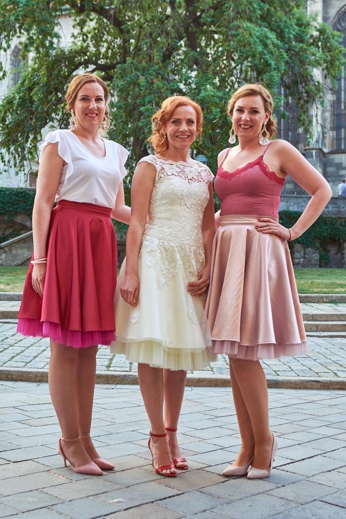 peter_a_lucia - Krátke svadobné šaty, Lo-OK tylové sukne