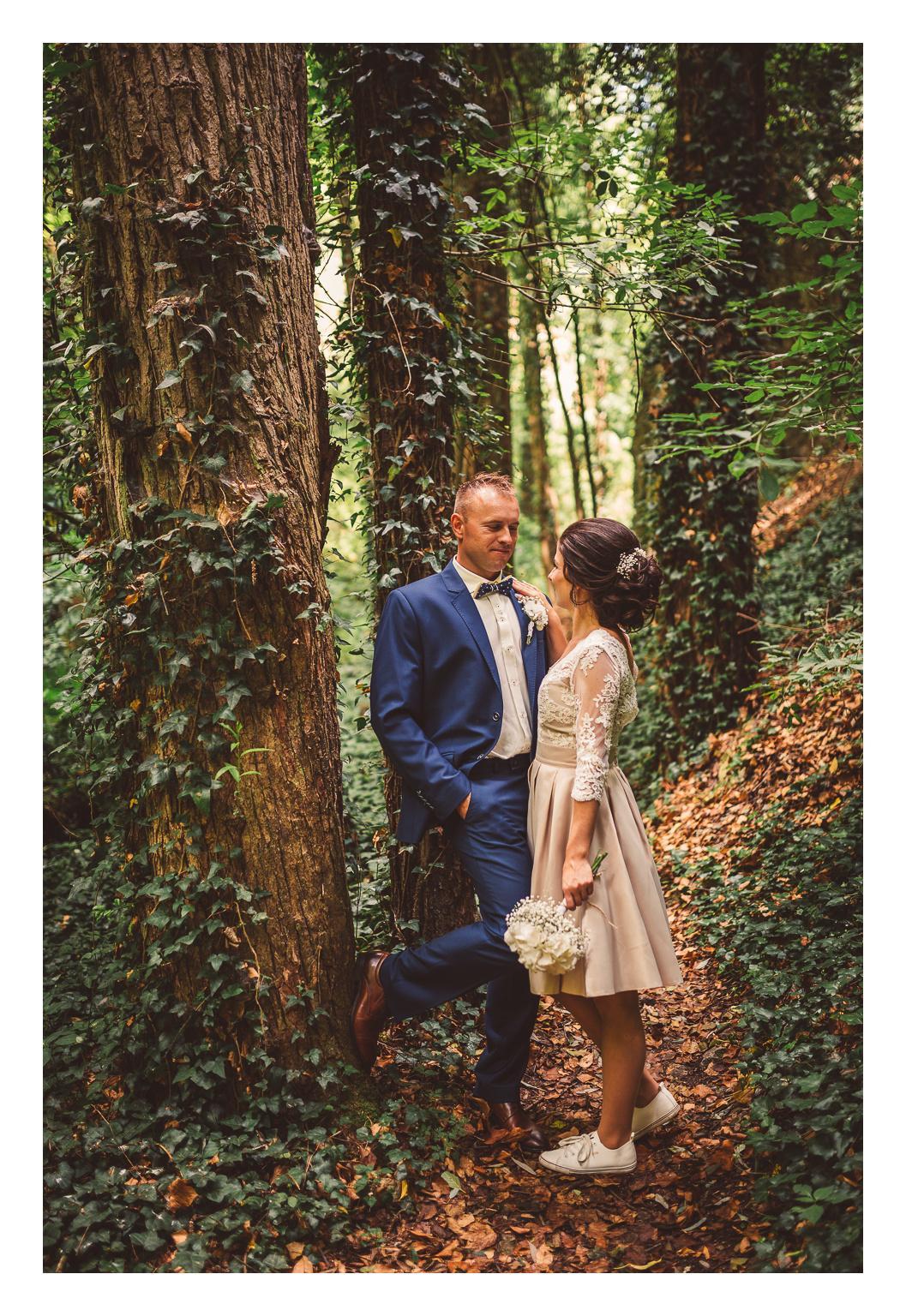 peter_a_lucia - Krátke svadobné šaty (zvlášť bolerko a sukňa)