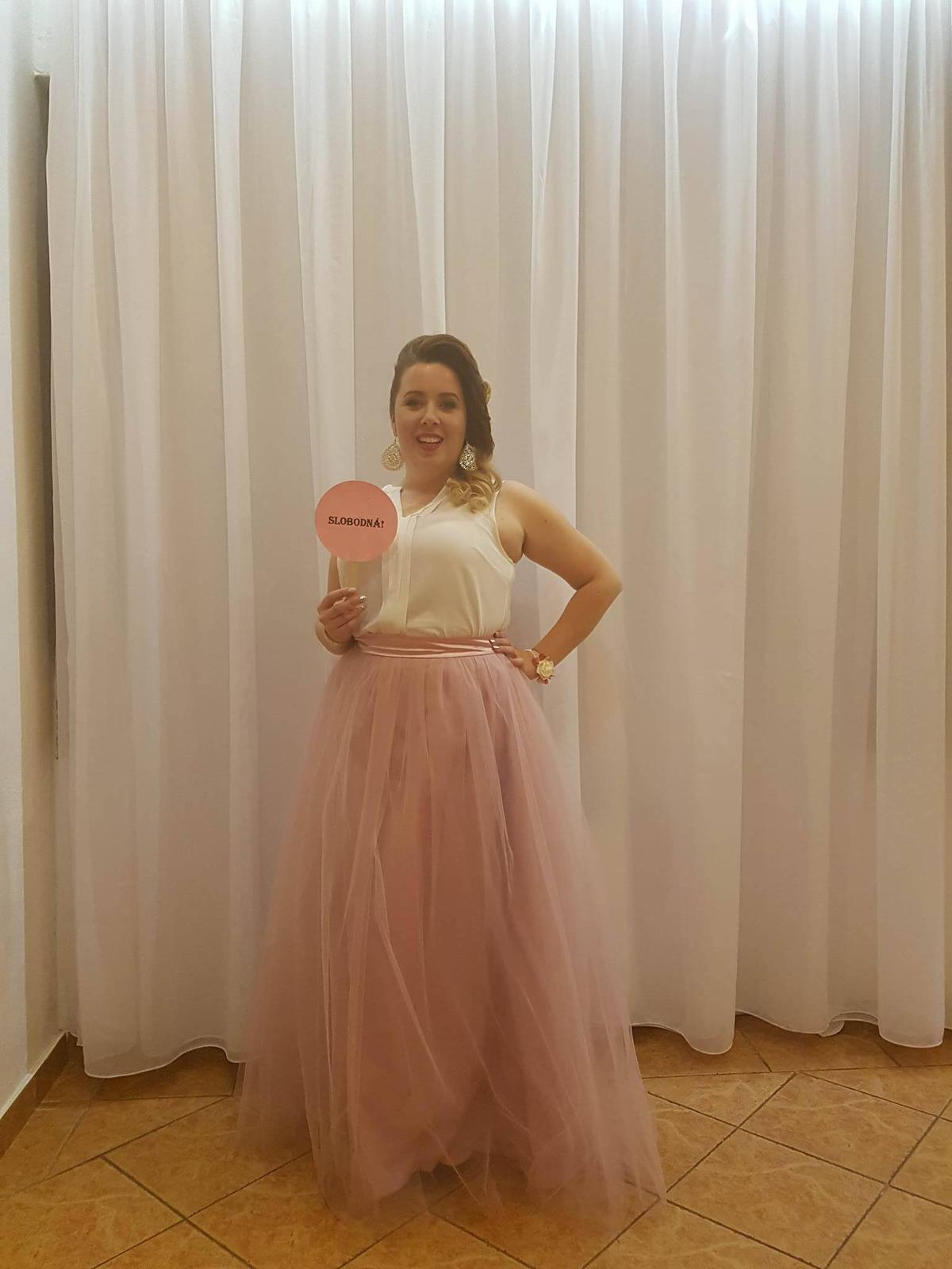 peter_a_lucia - Dlhá tylová sukňa