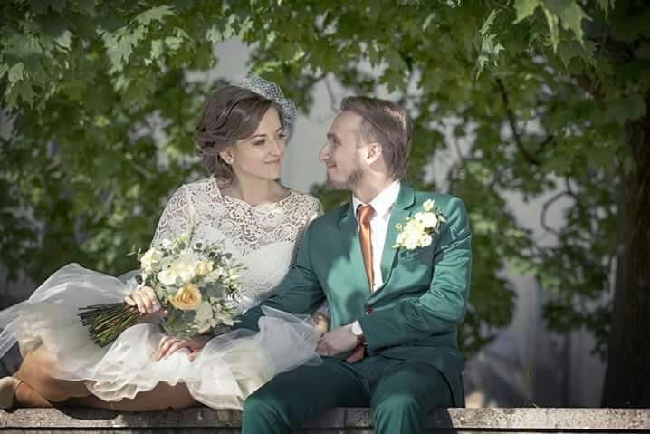 Kreatívny ženích značky Peter & Lucia - Maťo a jeho smaragdový oblek 👌
