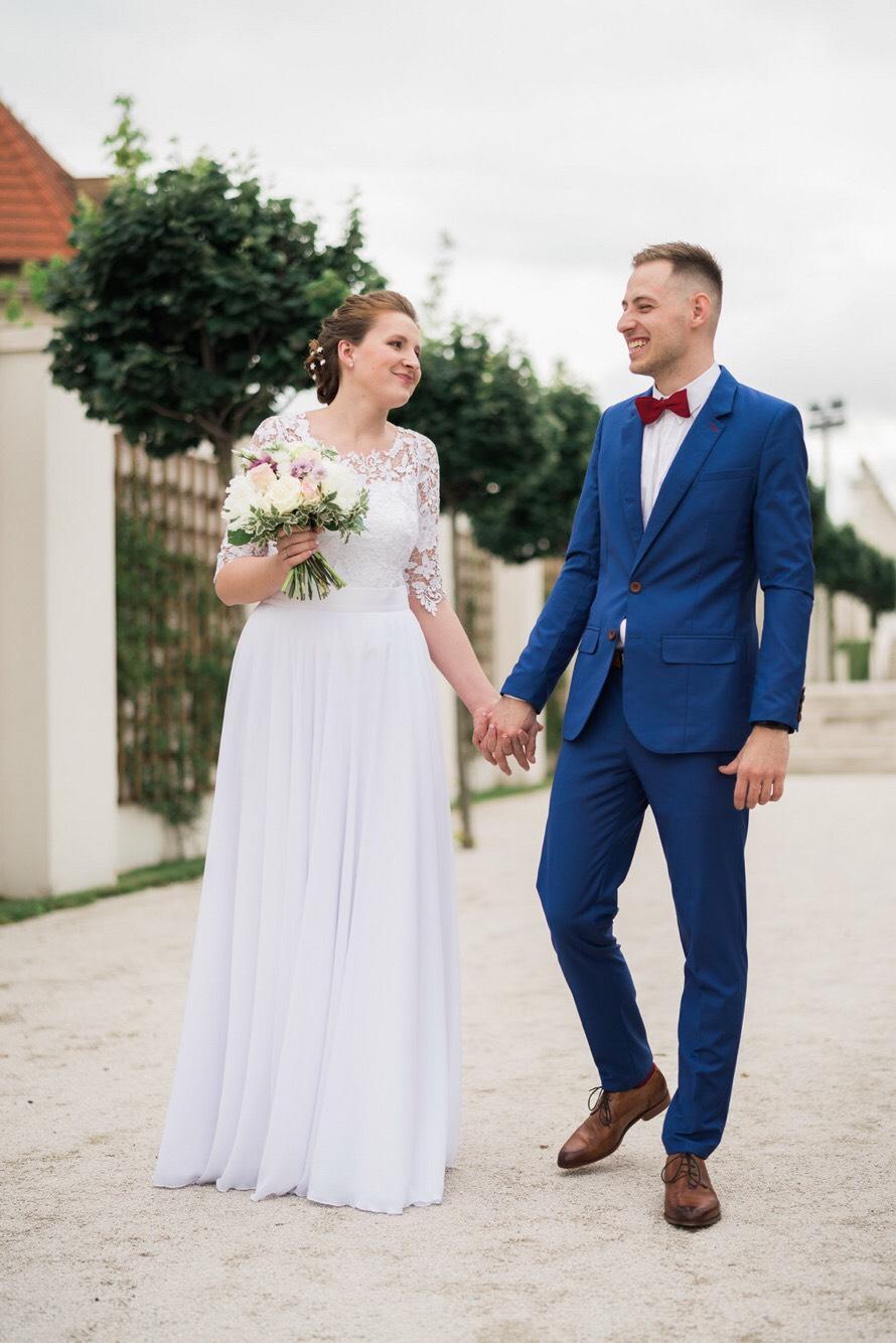 Kreatívny ženích značky Peter & Lucia - Martin a jeho modrý oblek 👌