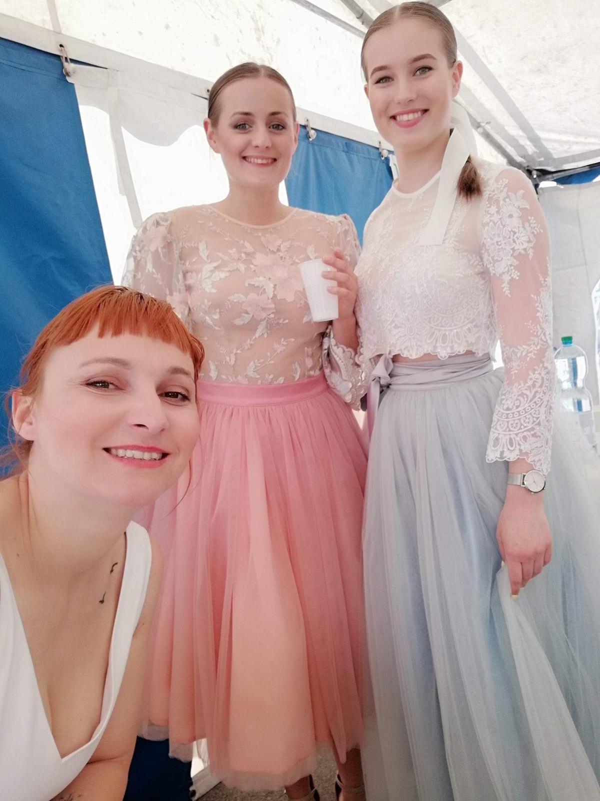 Náš príbeh ❤ a svadobná výstava Masarykov Dvor - Naše modelky ❤