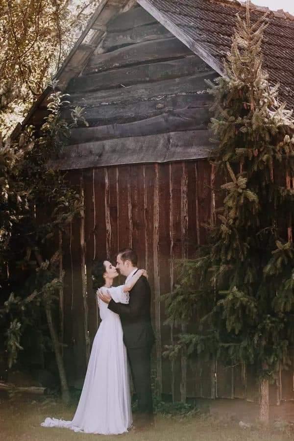 Nora a jej predstava o svadobných šatách ❤ - Obrázok č. 1