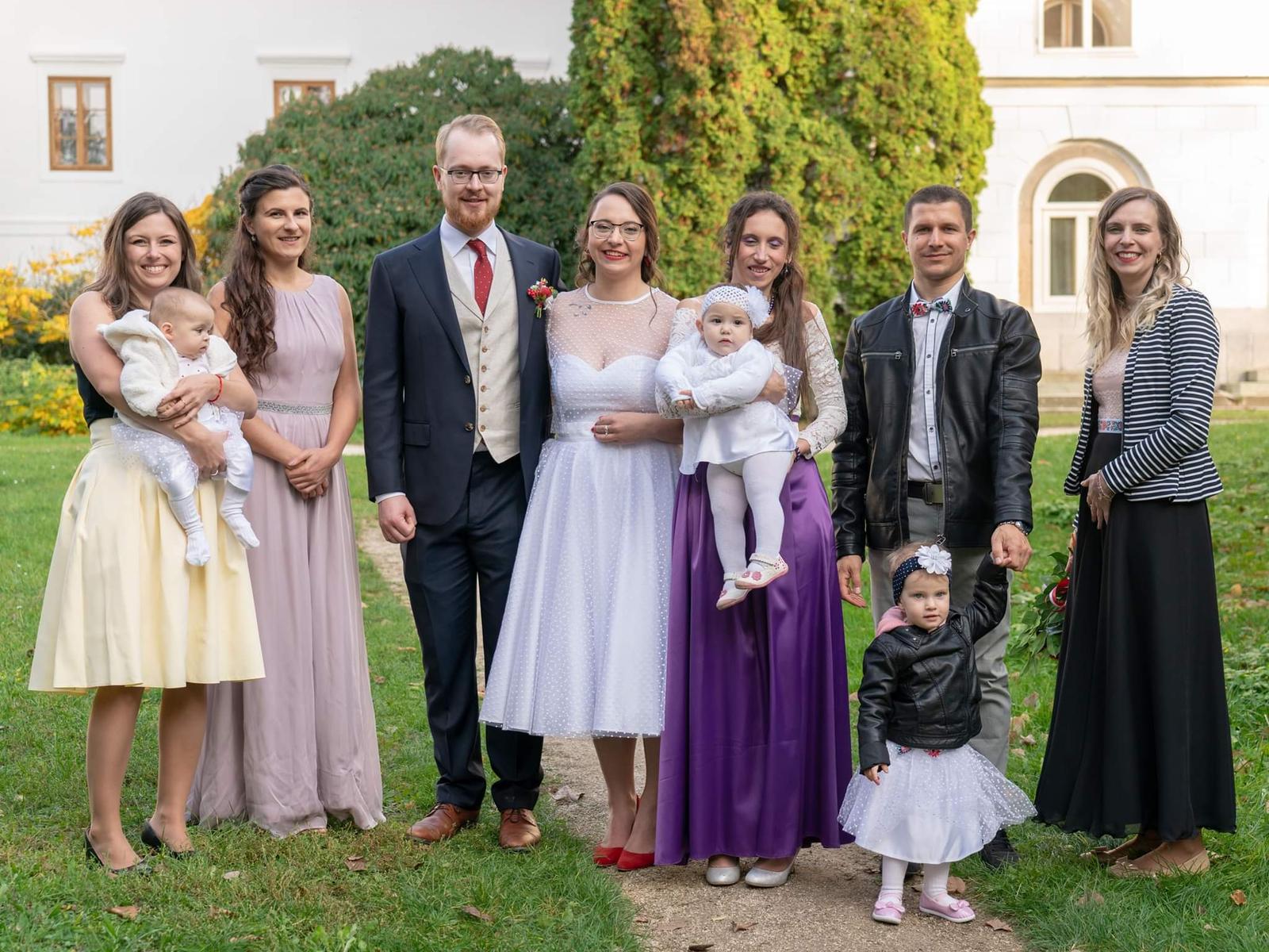 Daniela a jej krátke svadobné šaty a super referencia ❤ - Obrázok č. 1