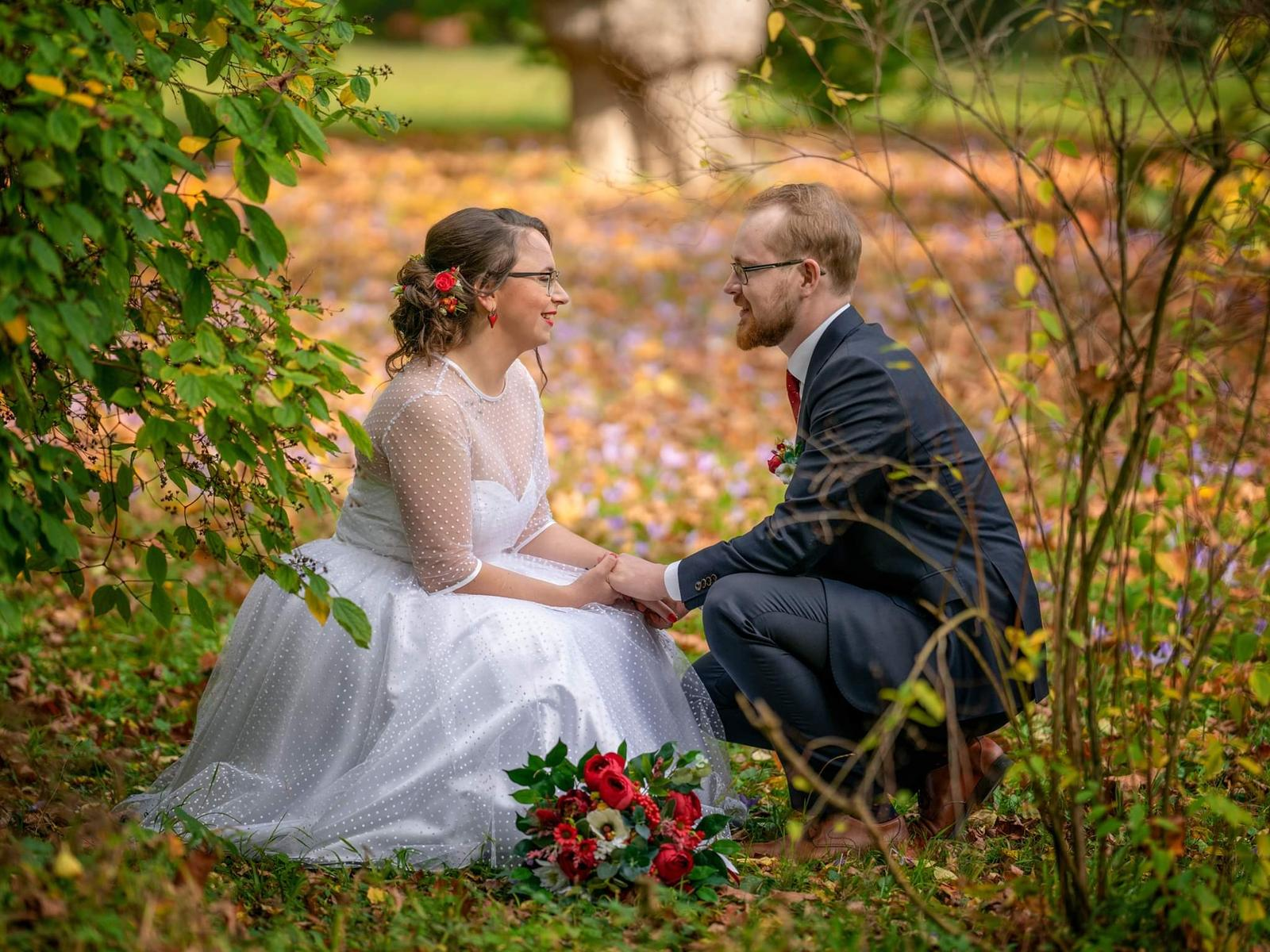 Daniela a jej krátke svadobné šaty a super referencia ❤ - Obrázok č. 2