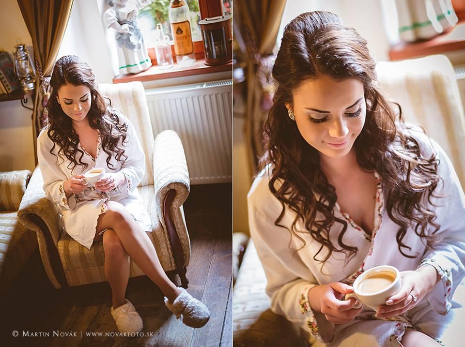 Pred svadbou si treba ešte vychutnať šálku dobrej kávy.  :-) - Obrázok č. 1
