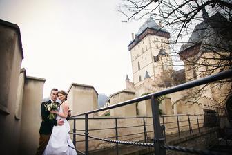 král a královna na hradě :)