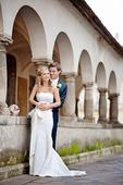 romantické celé čipkované svadobné šaty, 35