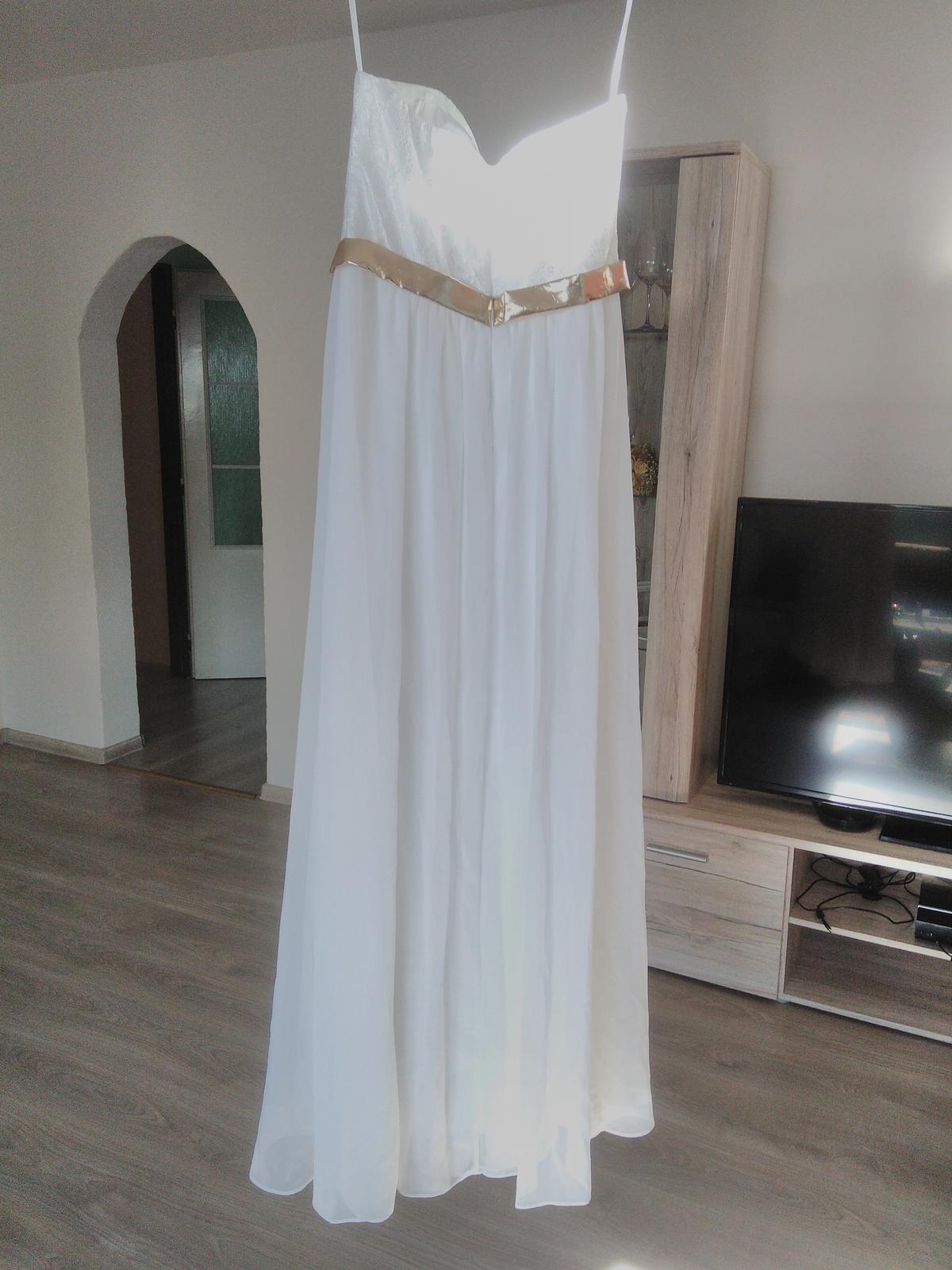 Svatební nebo popůlnoční šaty - Obrázek č. 1