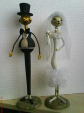 naše svadobné 60 cm figúrky